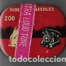Gramófonos y gramolas: CAJA DE AGUJAS DE GRAMOFOGO. Lote 194401635