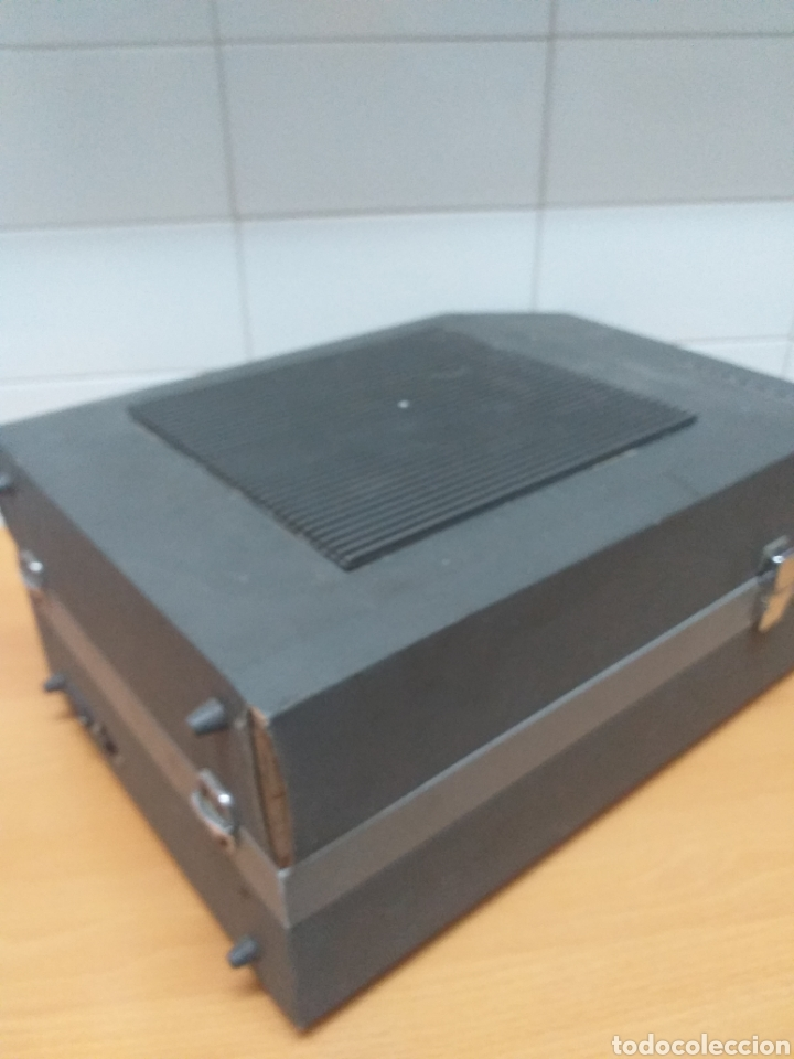 Gramófonos y gramolas: Antiguo tocadiscos maleta marca STIBERT mod 706, para restaurar o piezas - Foto 6 - 194505807