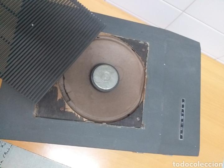 Gramófonos y gramolas: Antiguo tocadiscos maleta marca STIBERT mod 706, para restaurar o piezas - Foto 7 - 194505807