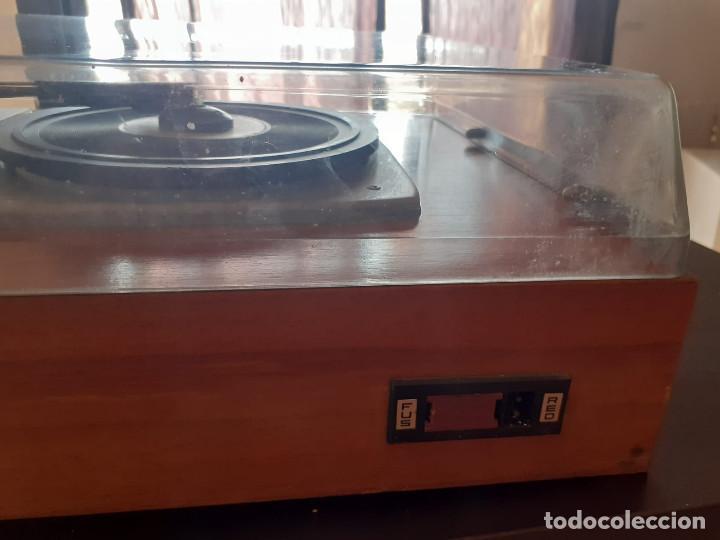 Gramófonos y gramolas: tocadiscos cosmos 3501 años 70 - Foto 4 - 194603718