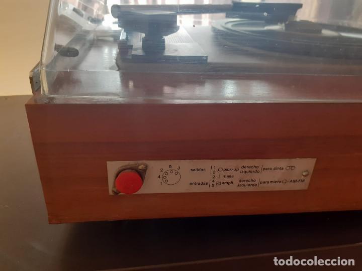Gramófonos y gramolas: tocadiscos cosmos 3501 años 70 - Foto 5 - 194603718