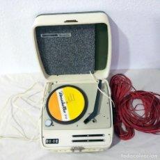 Gramófonos y gramolas: TOCADISCOS *** COSMO - DUALETTE 77 *** CON INSTRUCCIONES DE USO Y *** 2 ROLLOS DE CABLE DE SONIDO. Lote 194940061