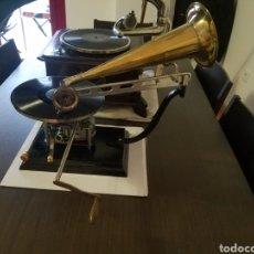 Gramófonos y gramolas: RARE GRAMOFONO . PROYECTO. 1905S PATHE ANTIGUAS PIEZAS. Lote 195061270
