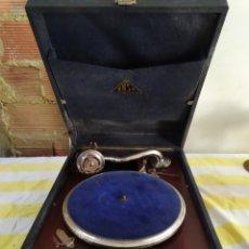 Gramófonos y gramolas: ANTIGUA GRAMOLA DE MANIVELA SIGLO XIX. Lote 195475326