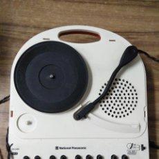 Gramófonos y gramolas: MFF.- TOCADISCOS, PIANO Y KARAOKE.- NATIONAL PANASONIC. MODEL NO. SG-123.-115-230 V.BETTERIES 9V.-. Lote 195506396