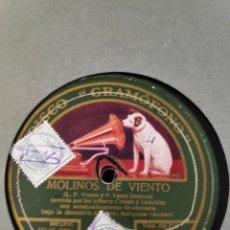 Gramófonos y gramolas: DISCO PIZARRA. Lote 197801993
