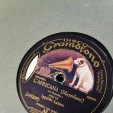 Gramófonos y gramolas: DISCO PIZARRA. Lote 197802081