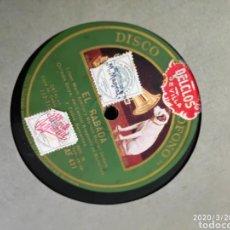 Gramófonos y gramolas: DISCO PIZARRA. Lote 197831665