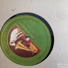 Gramófonos y gramolas: DISCO PIZARRA. Lote 197831677