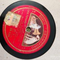 Gramófonos y gramolas: DISCO PIZARRA. Lote 197831823