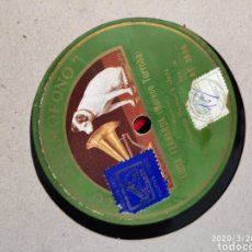 Gramófonos y gramolas: DISCO PIZARRA. Lote 197831891