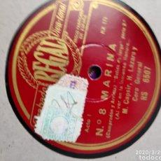 Gramófonos y gramolas: DISCO PIZARRA. Lote 197832016
