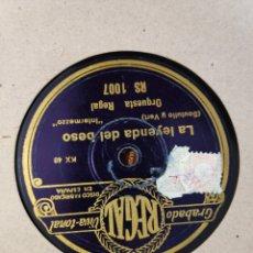 Gramófonos y gramolas: DISCO PIZARRA. Lote 197839183