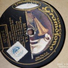 Gramófonos y gramolas: DISCO PIZARRA. Lote 197839418