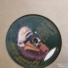 Gramófonos y gramolas: DISCO PIZARRA. Lote 197839480