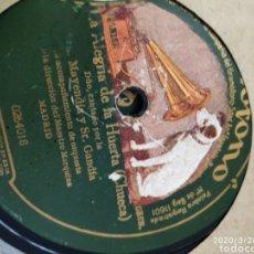 Gramófonos y gramolas: DISCO PIZARRA. Lote 197839643