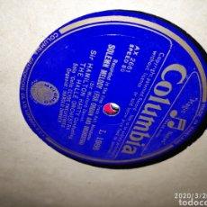 Gramófonos y gramolas: DISCO PIZARRA. Lote 197887471