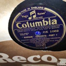 Gramófonos y gramolas: DISCO PIZARRA. Lote 197887490