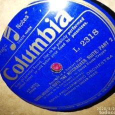 Gramófonos y gramolas: DISCO PIZARRA. Lote 197887523