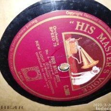 Gramófonos y gramolas: DISCO PIZARRA. Lote 197888707