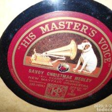 Gramófonos y gramolas: DISCO PIZARRA. Lote 197888761
