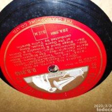 Gramófonos y gramolas: DISCO PIZARRA. Lote 197888902