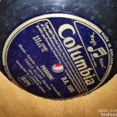 Gramófonos y gramolas: DISCO PIZARRA. Lote 197888965
