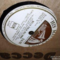Gramófonos y gramolas: DISCO PIZARRA. Lote 197888993