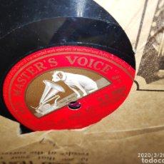 Gramófonos y gramolas: DISCO PIZARRA. Lote 197889061