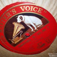 Gramófonos y gramolas: DISCO PIZARRA. Lote 197889120