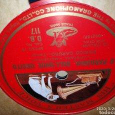 Gramófonos y gramolas: DISCO PIZARRA. Lote 198067603