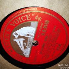 Gramófonos y gramolas: DISCO PIZARRA. Lote 198067621
