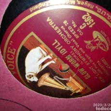 Gramófonos y gramolas: DISCO PIZARRA. Lote 198067646