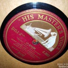 Gramófonos y gramolas: DISCO PIZARRA. Lote 198067676