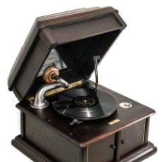 Gramófonos y gramolas: PRECIOSO GRAMÓFONO DE ORIGEN INGLÉS, DE LOS AÑOS 1930, FUNCIONANDO A LA PERFECCIÓN.. Lote 198346555
