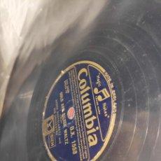 Gramófonos y gramolas: DISCO PIZARRA. Lote 198591081