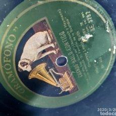 Gramófonos y gramolas: DISCO PIZARRA. Lote 198778166