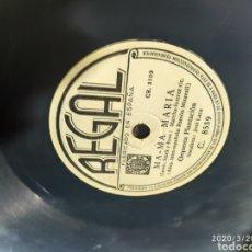 Gramófonos y gramolas: DISCO PIZARRA. Lote 198778277