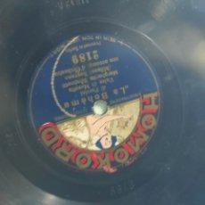 Gramófonos y gramolas: DISCO PIZARRA. Lote 198778345