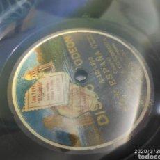 Gramófonos y gramolas: DISCO PIZARRA. Lote 198778542