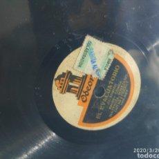 Gramófonos y gramolas: DISCO PIZARRA. Lote 198778665