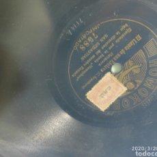 Gramófonos y gramolas: DISCO PIZARRA. Lote 198778692