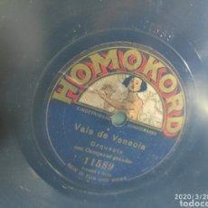 Gramófonos y gramolas: DISCO PIZARRA. Lote 198778785