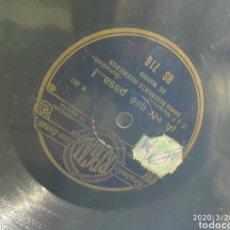 Gramófonos y gramolas: DISCO PIZARRA. Lote 198778846