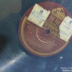 Gramófonos y gramolas: DISCO PIZARRA. Lote 198778886