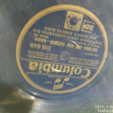 Gramófonos y gramolas: DISCO PIZARRA. Lote 198778950