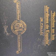 Gramófonos y gramolas: DISCO PIZARRA ÁLBUM. Lote 198779045
