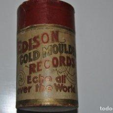 Gramófonos y gramolas: CILINDRO GRAMOFONO EDISON MOULES SUR OR N 8139. Lote 199646671