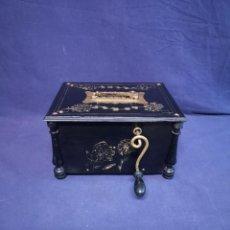 Gramófonos y gramolas: CAJA DE MUSICA INTONA. Lote 199661405