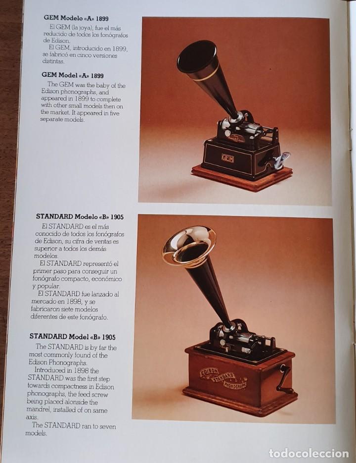Gramófonos y gramolas: 5 FONÓGRAFOS - ESCALA 1/4 - MANUEL OLIVÉ SANS - CENTENARIO PHONÓGRAFO - NUMERADOS Y CERTIFICADOS. - Foto 19 - 200142547
